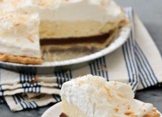 Black-Bottom Coconut Cream Pie Recipe