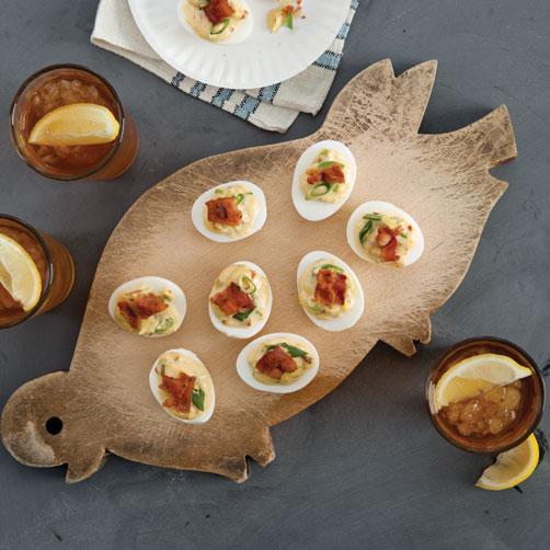 Crispy Bacon Deviled Eggs Recipe