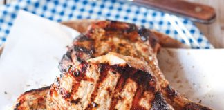 Ginger-Spiced Pork Chops Recipe
