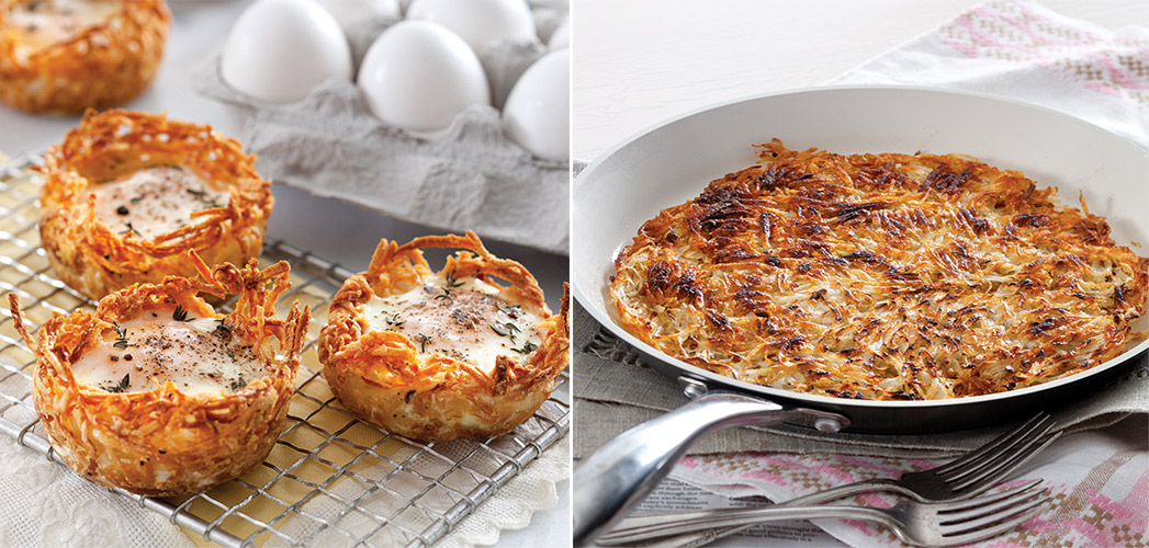 5 Ways With Hash Browns