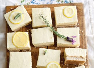 Lemon Ice-Box Bars Recipe