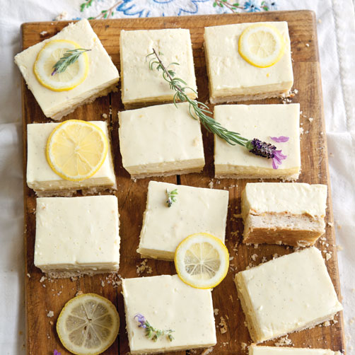 Lemon Ice-Box Bars Recipe
