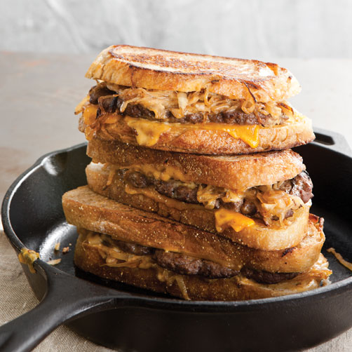 Patty Melts with Secret Sauce