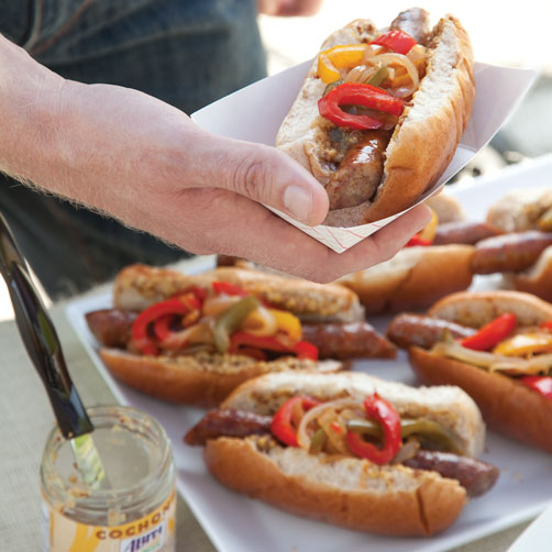 hot dog onion recipe