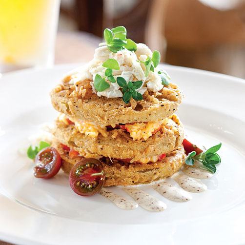 Acre Restaurant S Fried Green Tomatoes