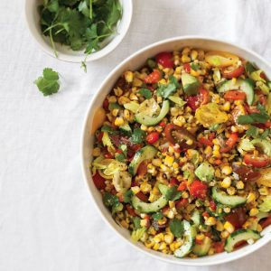 Grilled-Corn-Salad-with-Cilantro-Vinaigrette