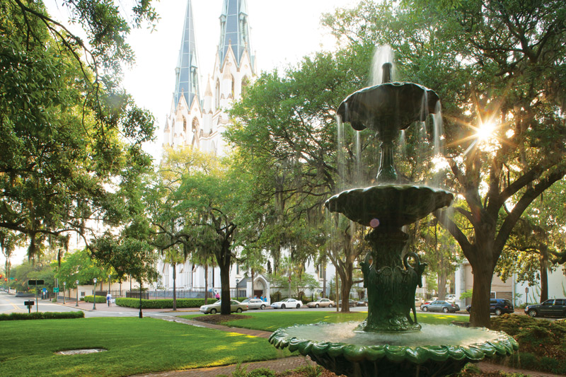 Places to Dine, Shop, and Stay in Savannah