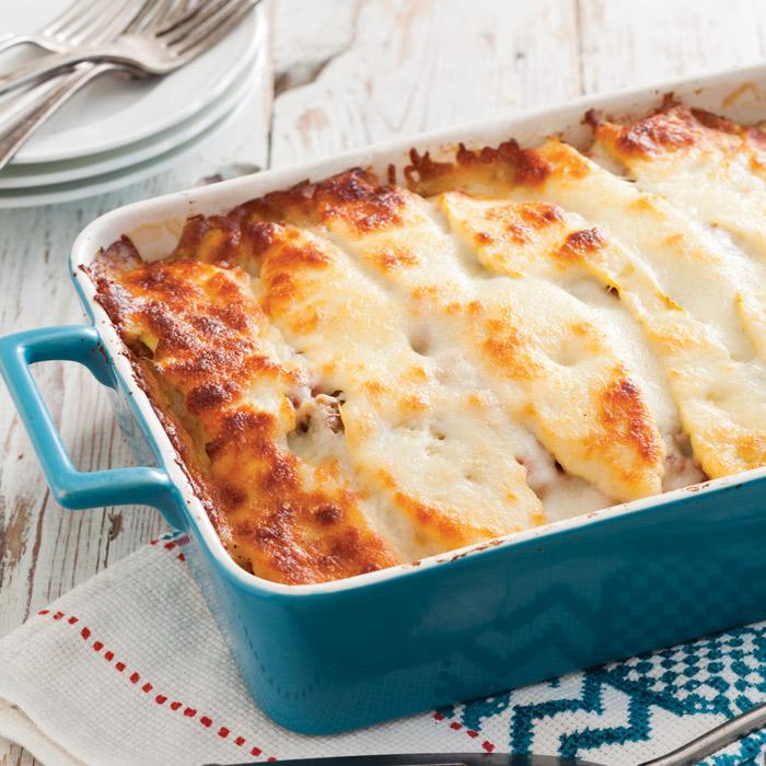 Summer Squash Lasagna Recipe - Taste of the South Magazine
