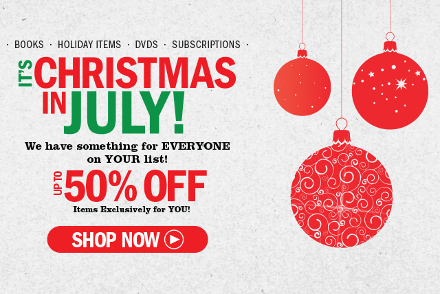 Christmas In July Sale Images.It S Time For Our Christmas In July Sale