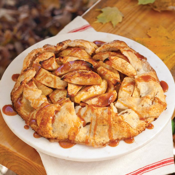 Apple Tart with Cider-Caramel Sauce - Taste of the South Magazine