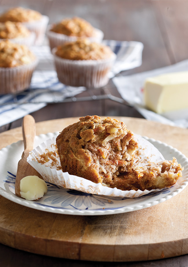 Carrot Spice Muffin Recipe - Taste of the South Magazine