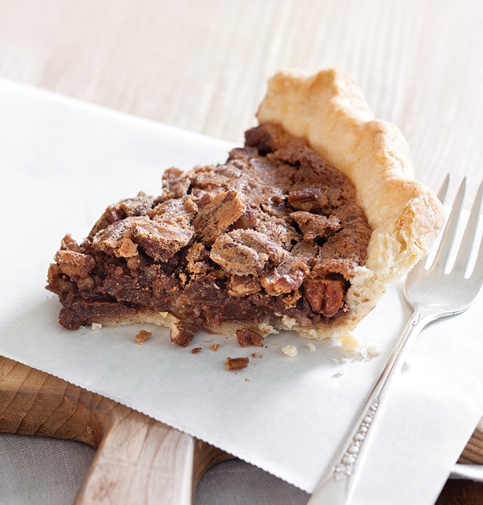 Chocolate-Coffee-Pecan-Chess Pie - Taste of the South Magazine