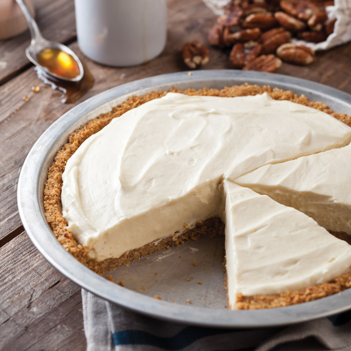 Maple Mousse Pie Recipe - Taste of the South Magazine