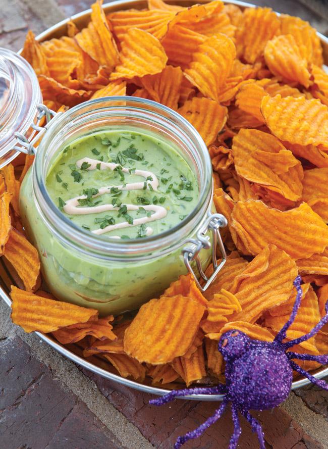 Avocado Herb Dip - Taste of the South Magazine