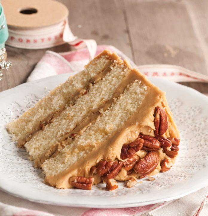 Buttered-Pecan-Caramel-Cake