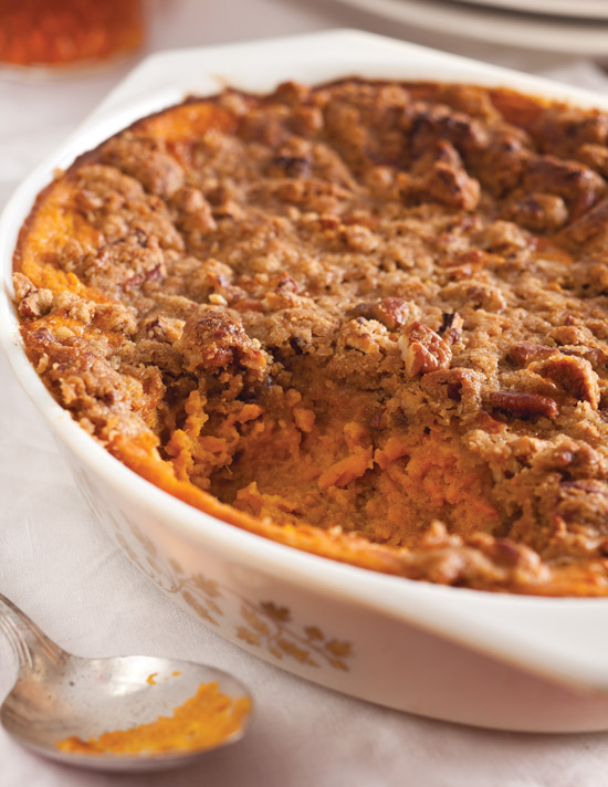 Christy Jordan S Orange Pecan Topped Sweet Potato Casserole Taste