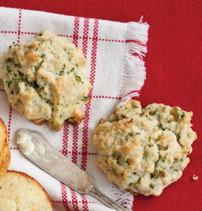 Creamy-Tarragon-Drop-Biscuits