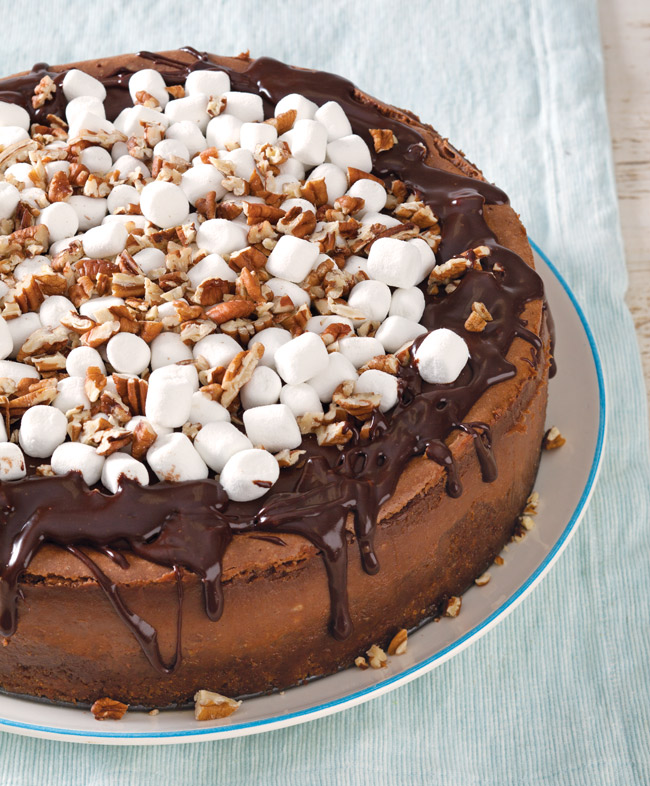 Mississippi Mud Cheesecake Recipe- Taste of the South Magazine