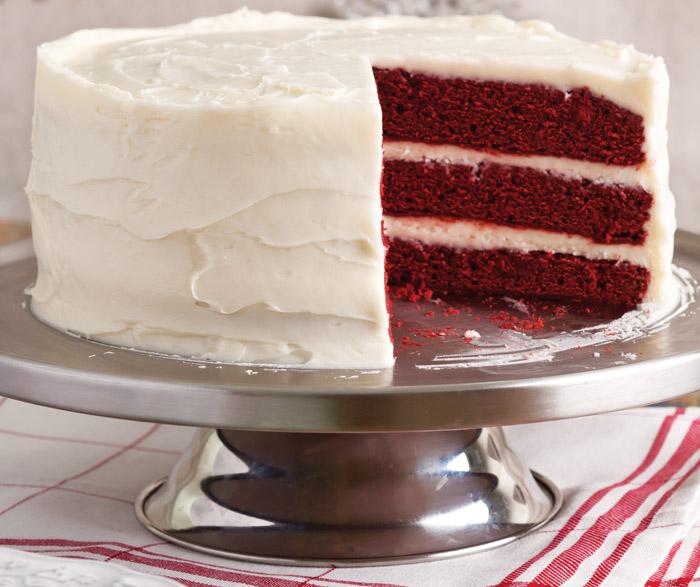 Magnolia Red Velvet Cake