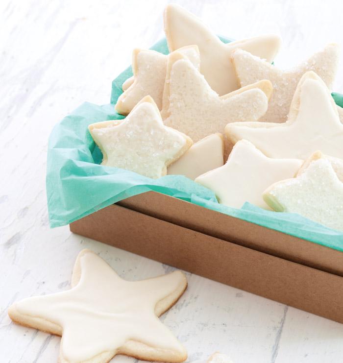 apple cider glazed sugar cookies