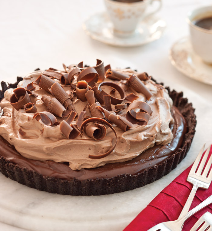 Chocolate-Espresso Tart Recipe — Dishmaps