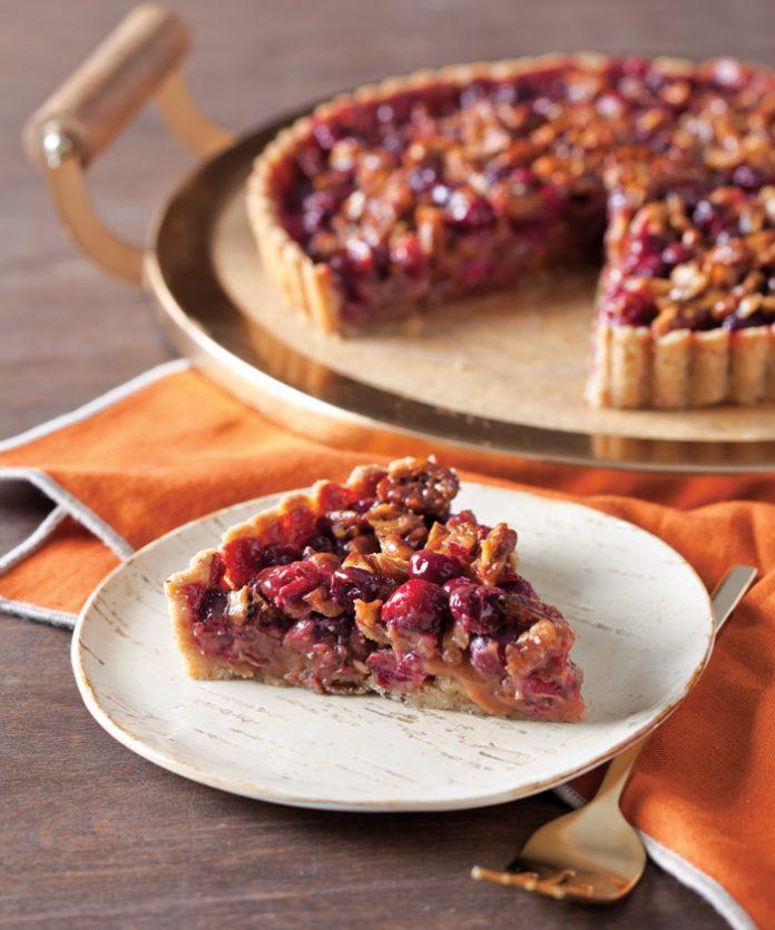 Cranberry Caramel Tart - Taste of the South Magazine