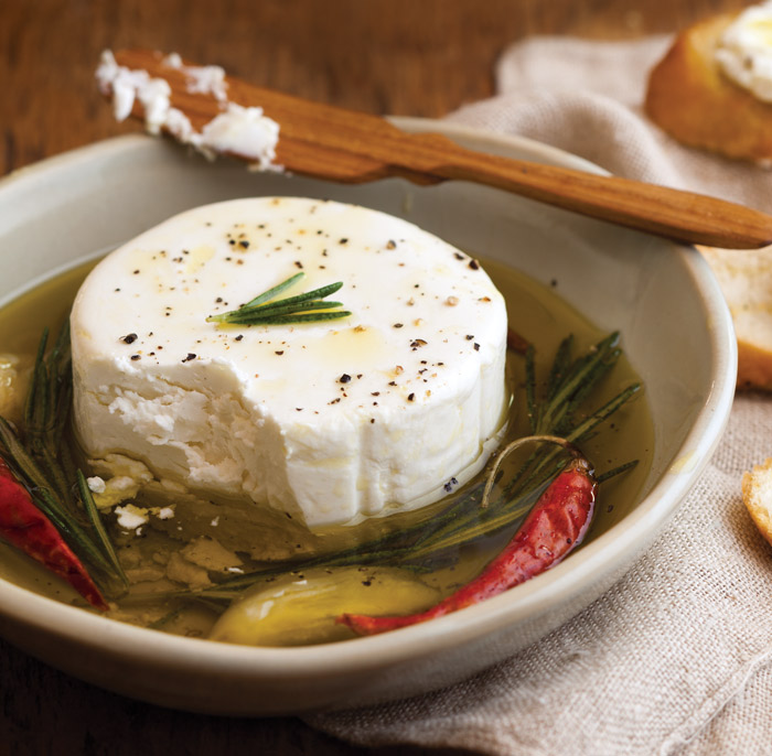 Marinated Goat Cheese - Taste of the South Magazine