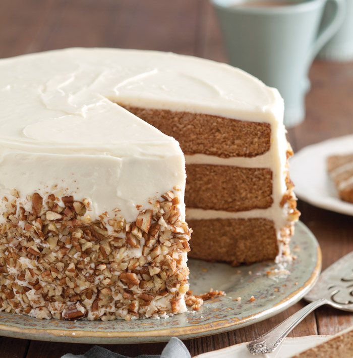 Apple Spice Cake With Cream Cheese Icing