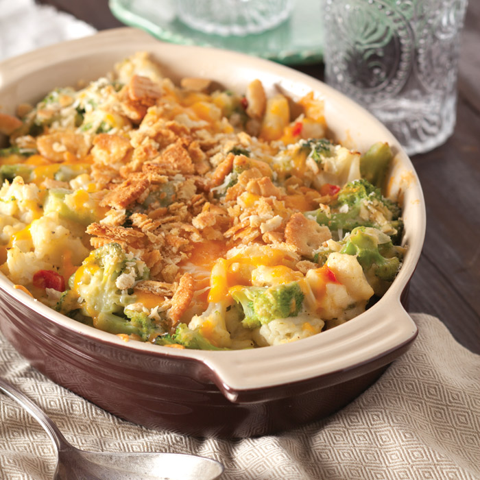 Broccoli-Cauliflower Gratin - Taste of the South Magazine