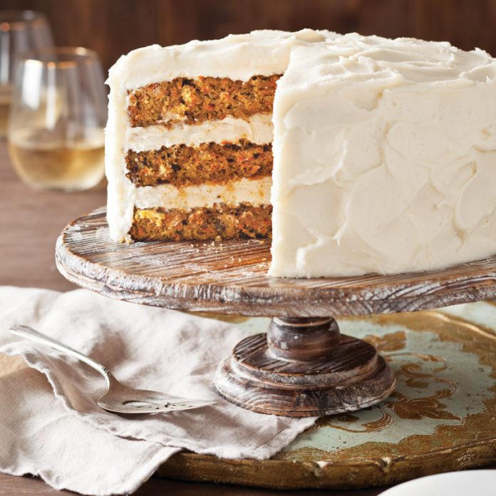Carrot Cake Recipe With Walnuts And Raisins