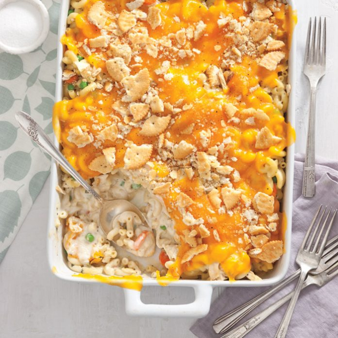 Chicken Pot Pie Mac and Cheese - Taste of the South Magazine