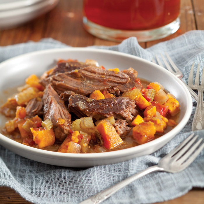 Pot Roast With Sweet Potatoes Taste Of The South Magazine