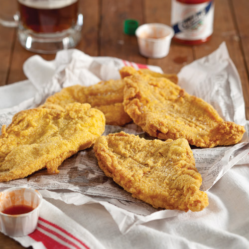 Southern fried catfish recipes buttermilk for Buttermilk fish batter