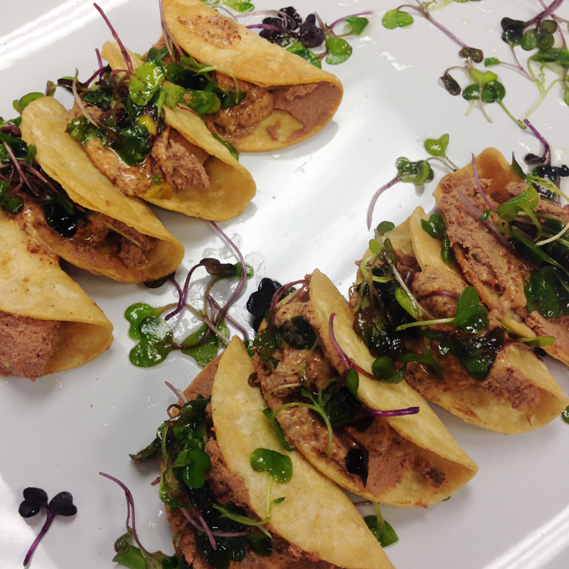 Chicken Liver Pate Taquitos