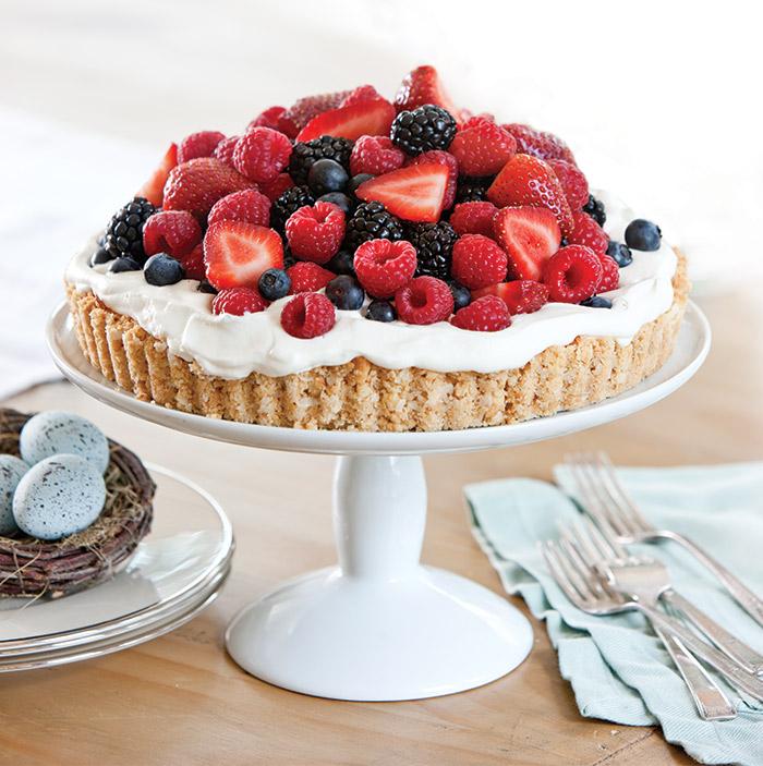 Coconut-Berry-Tart