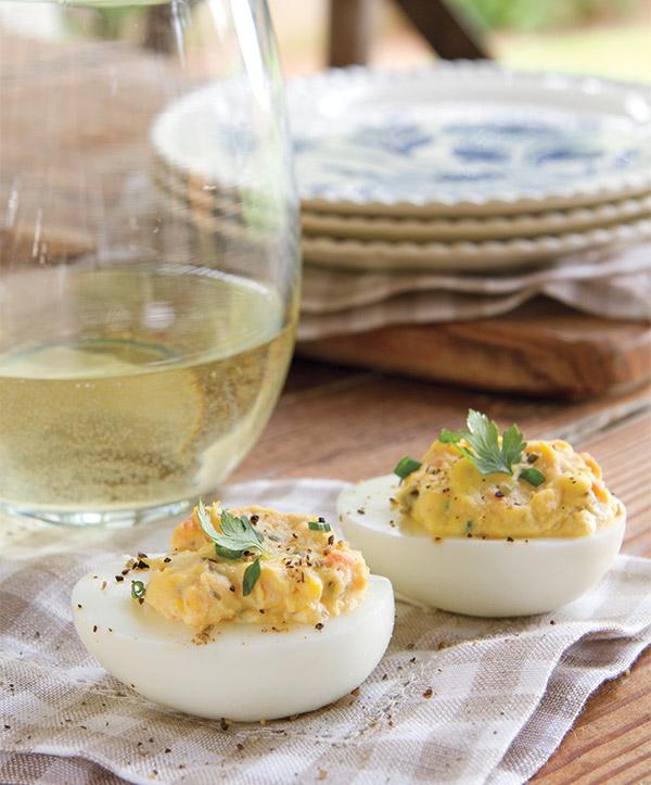 Smoked Salmon Deviled Eggs - Taste of the South Magazine