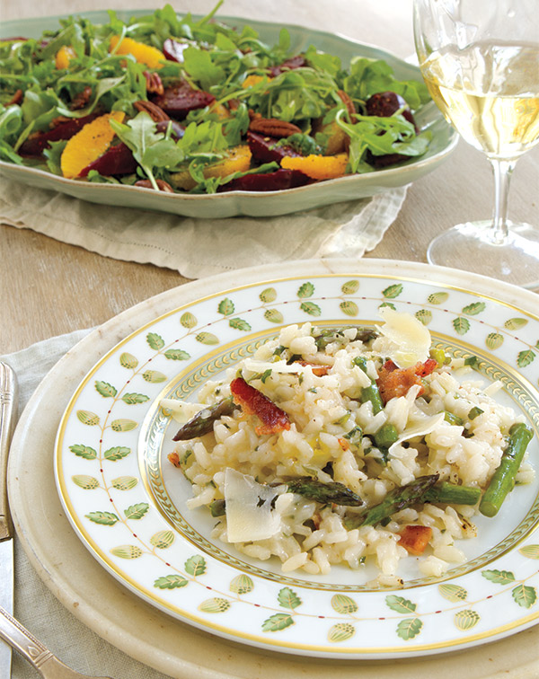 Risotto-and-Salad