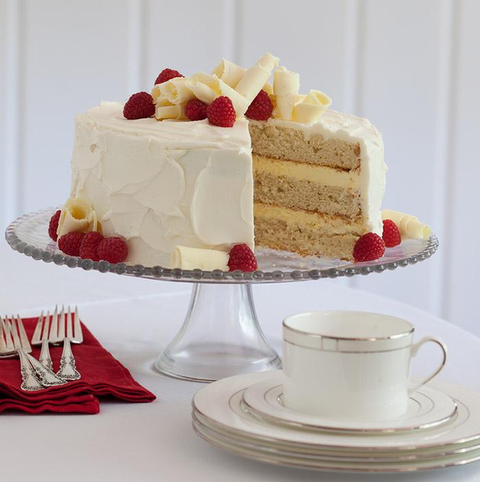 Vanilla Buttermilk Cake Taste Of The South Magazine
