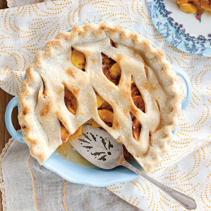 state desserts peach cobbler