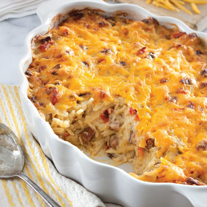 For a hearty breakfast, nothing beats this hash brown casserole made ...