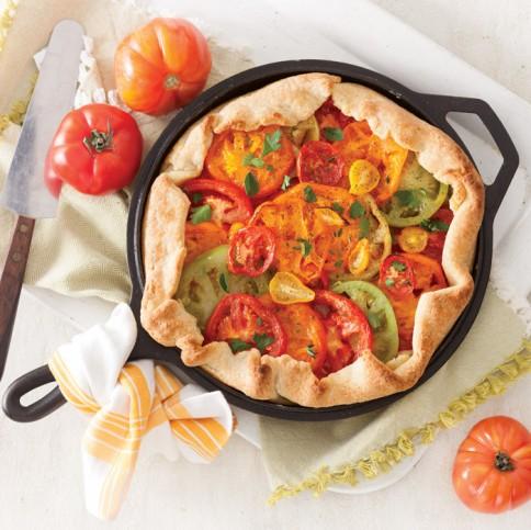 Skillet Tomato Pie
