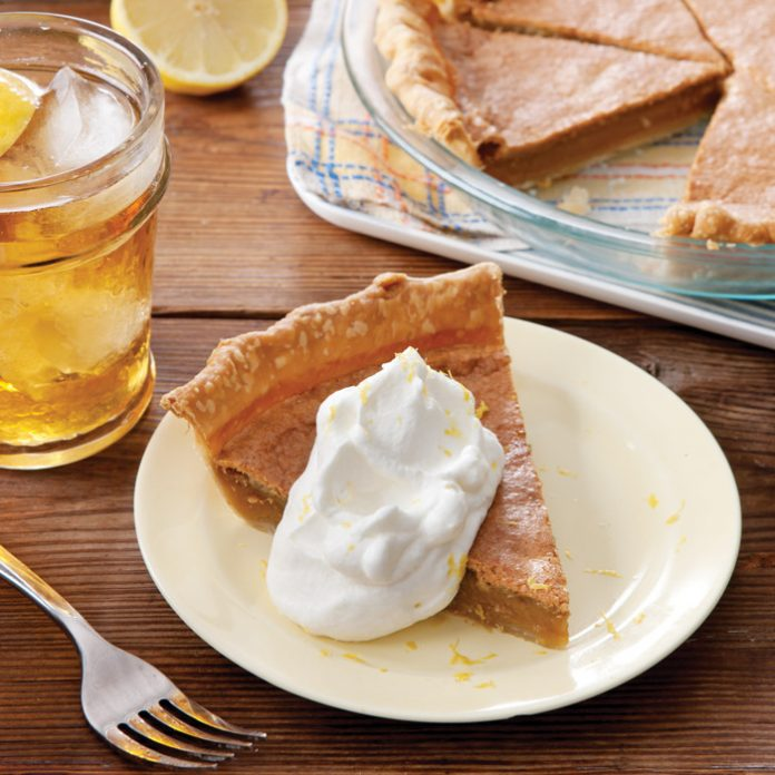 sweet tea pie
