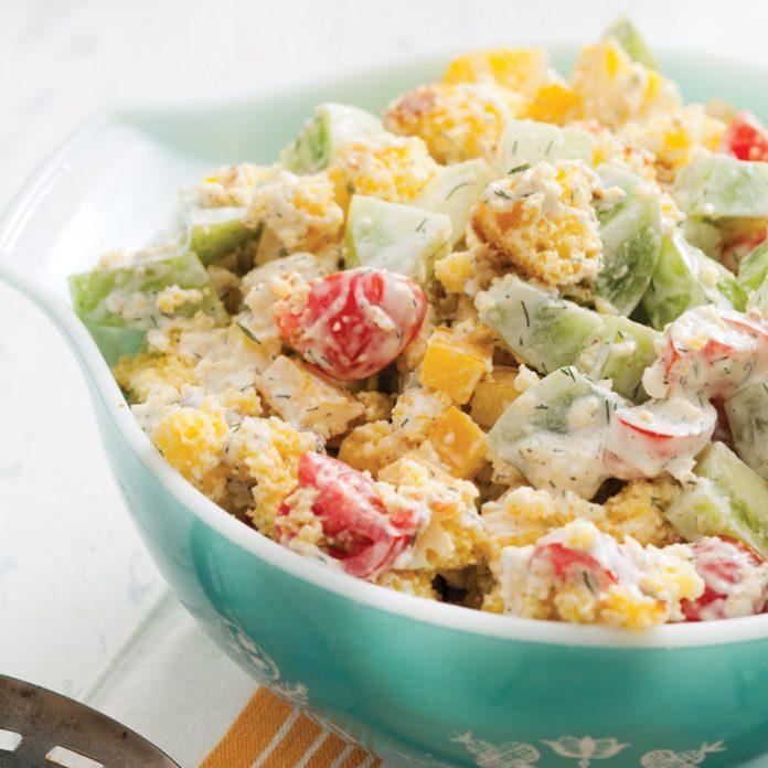 Cornbread-Salad