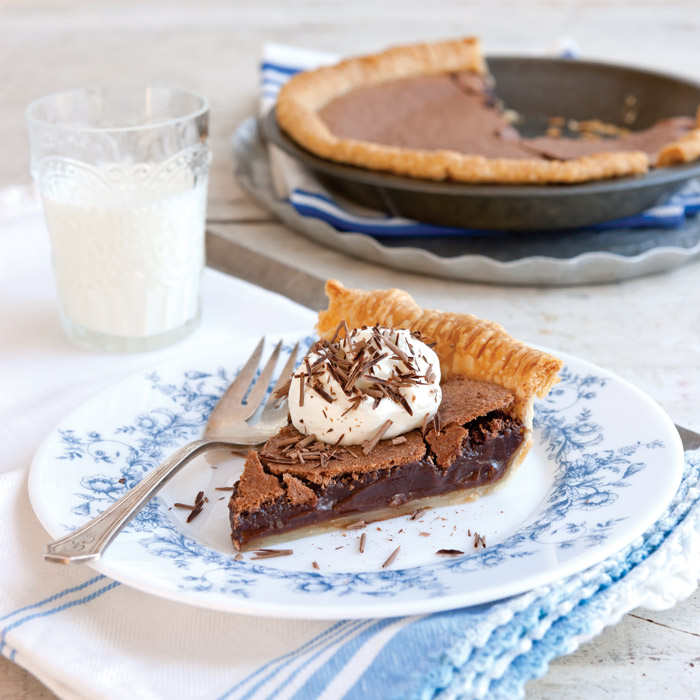 Paula Deen Chocolate Chess Pie