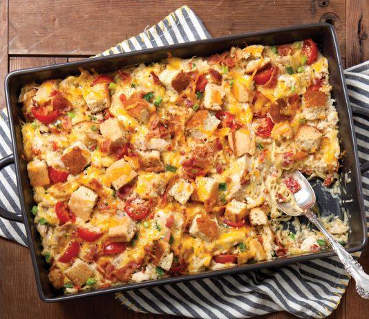 Chicken Spaghetti Squash Casserole - Taste of the South Magazine