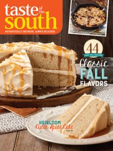 Taste of the South Sept/Oct 15 cover