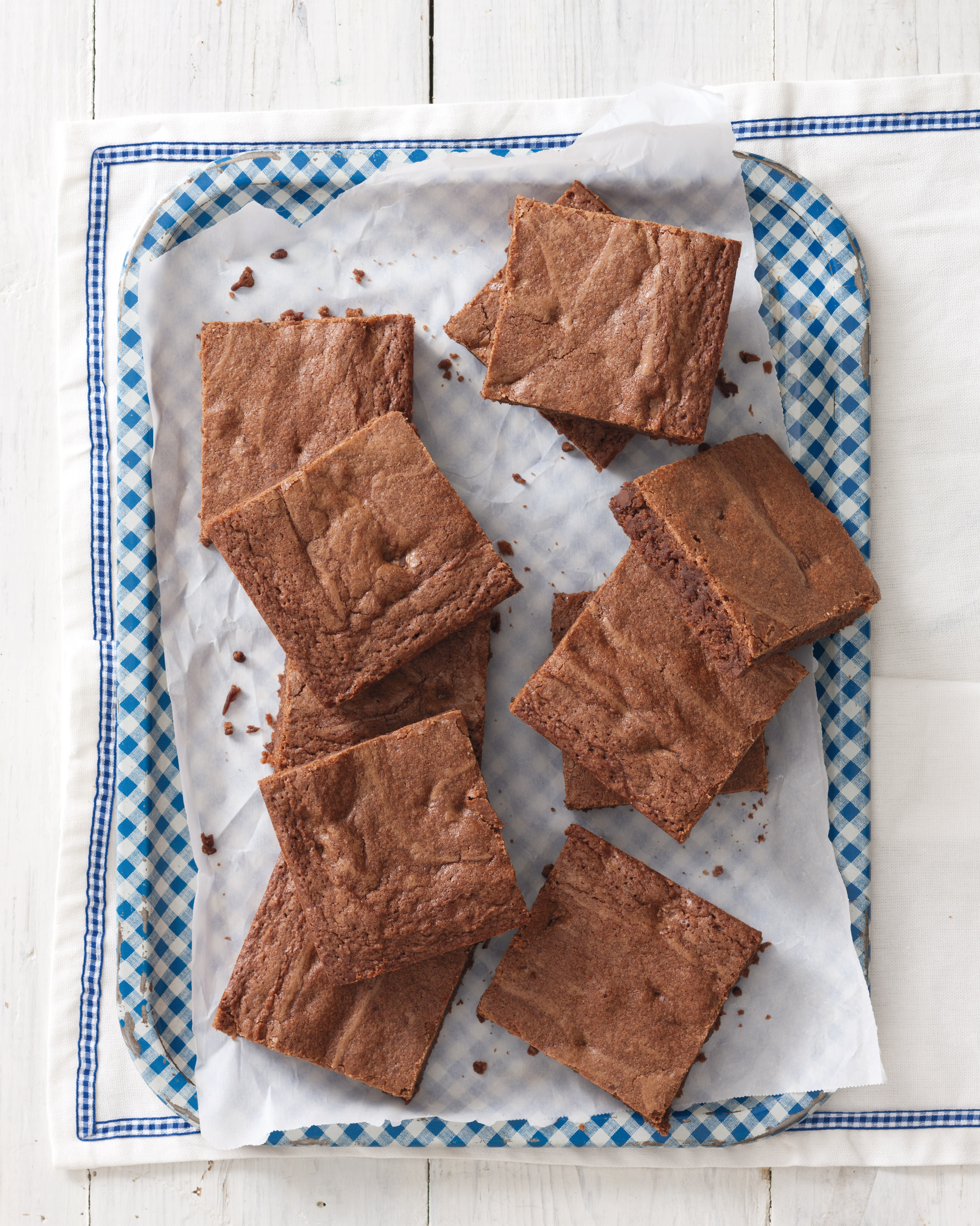 Browned Butter Brownies - Taste of the South