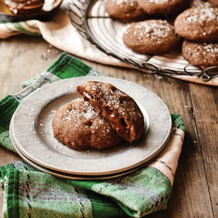 Nutella Fudge Cookies