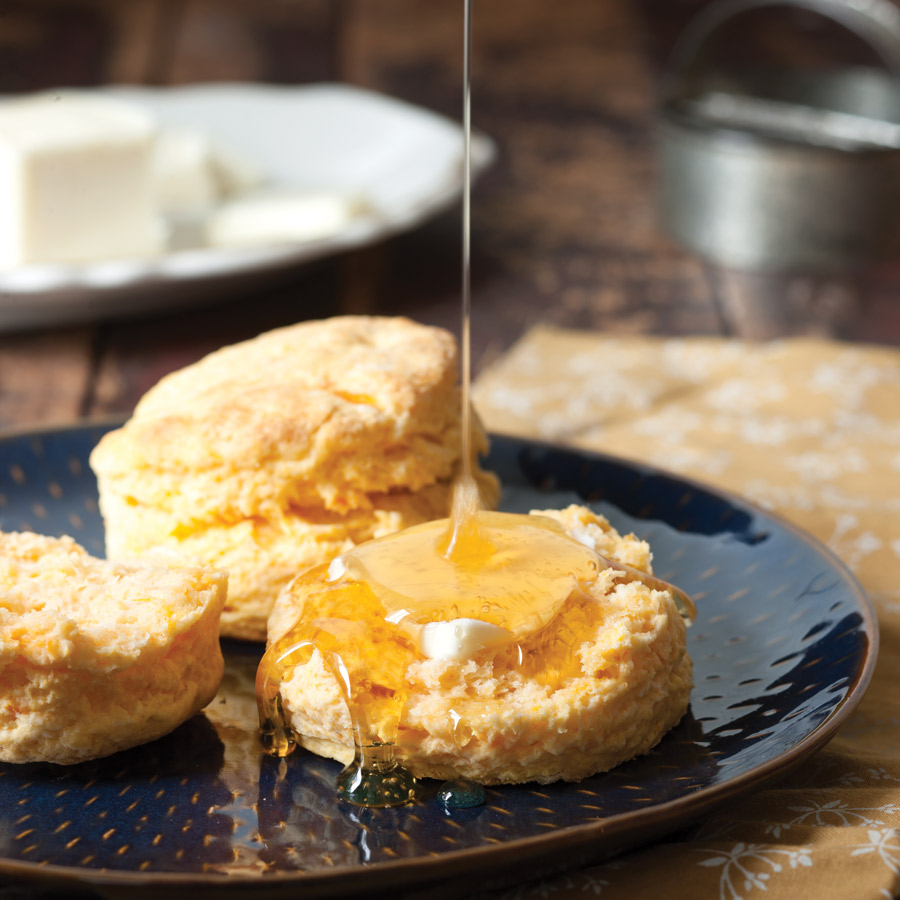 Sweet Potato Biscuits - Taste of the South