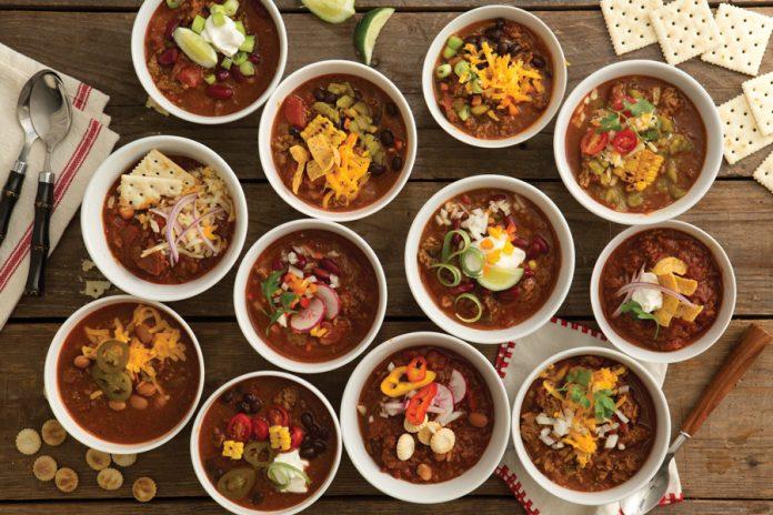 Chili bowls